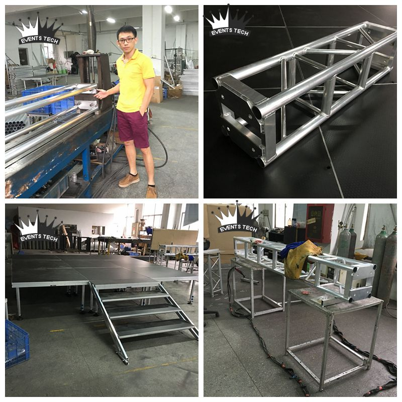 Stage & Thomas Truss mass production to Canada-Shenzhen